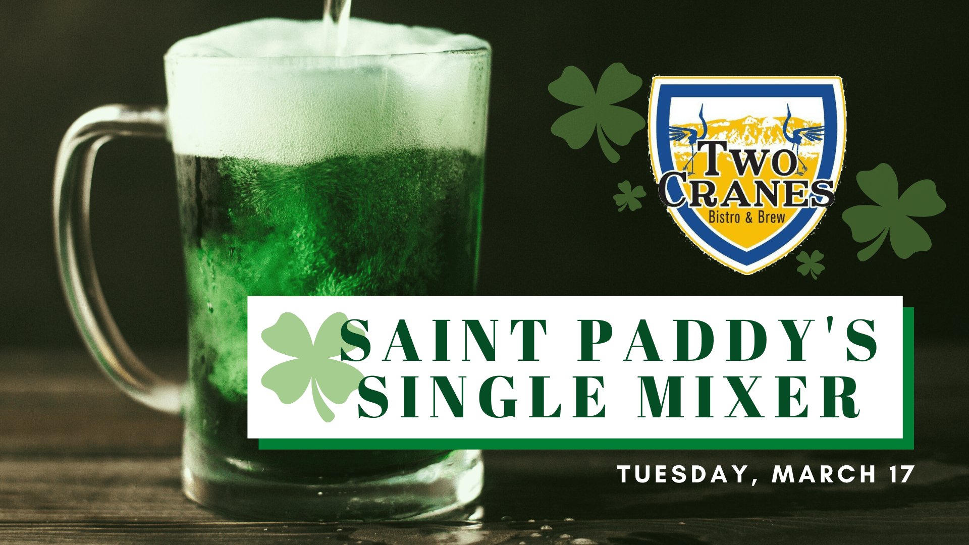 st paddys day single mixer